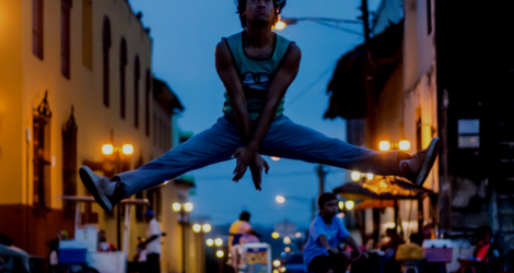 Cristhiam Betanco: there are quite a lot of male ballet dancers in Nicaragua