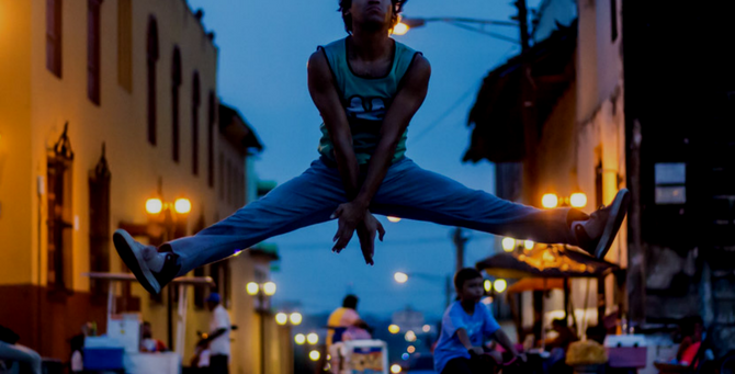 Male ballet dancer on pointe | Cristhiam Betanco: there are quite a lot of male ballet dancers in Nicaragua