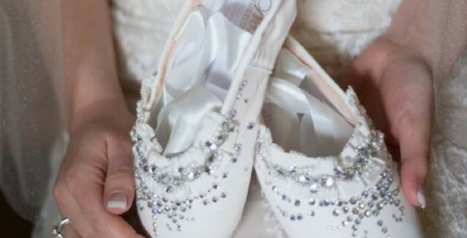 Wedding Pointe Shoes: A success story | Bestpointe.com: The ballet experts