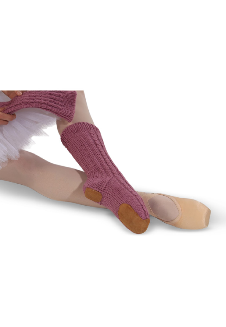 WOOL HANDMADE BALLET SLIPPER SOCKS BY ΤΑΝΟΚ 6