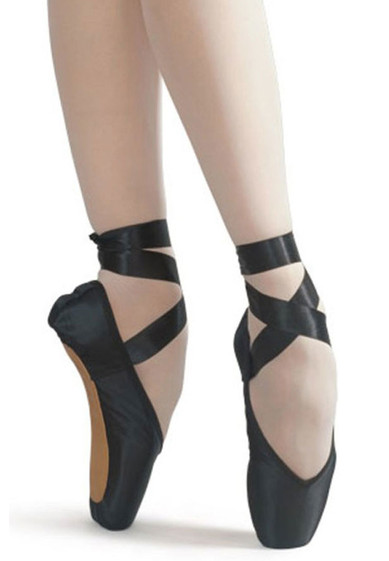 Black Pointe Shoes