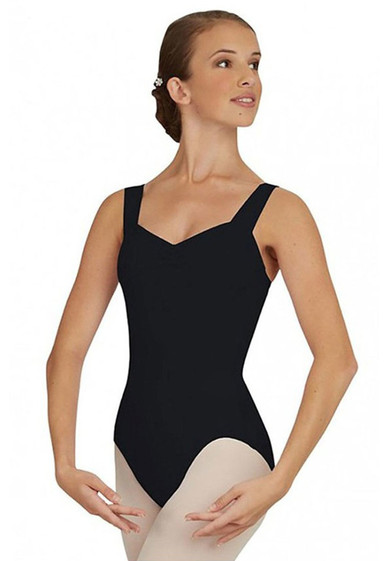 WOMEN'S WIDE STRAP LEOTARD BY CAPEZIO