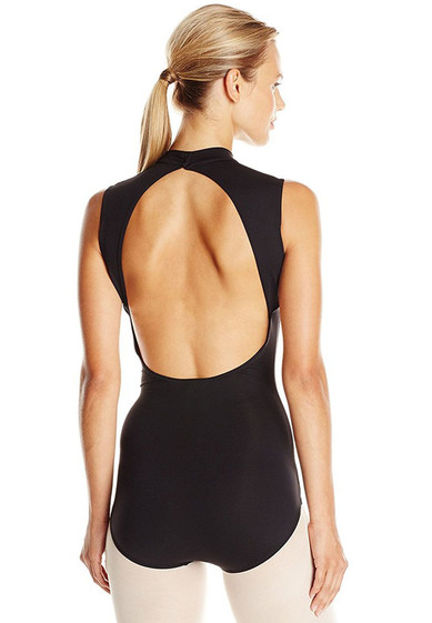 POLO NECK LEOTARD BY CAPEZIO