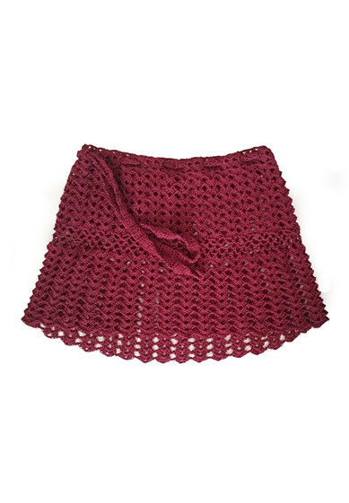 HANDMADE KNITTED SKIRT BY TANOK