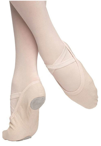 VIVANTE, CANVAS SPLIT SOLE BY RUSSIAN POINTE