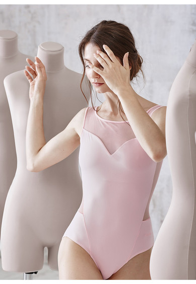 Bolshoi Stars. Senses Leotard with Mesh