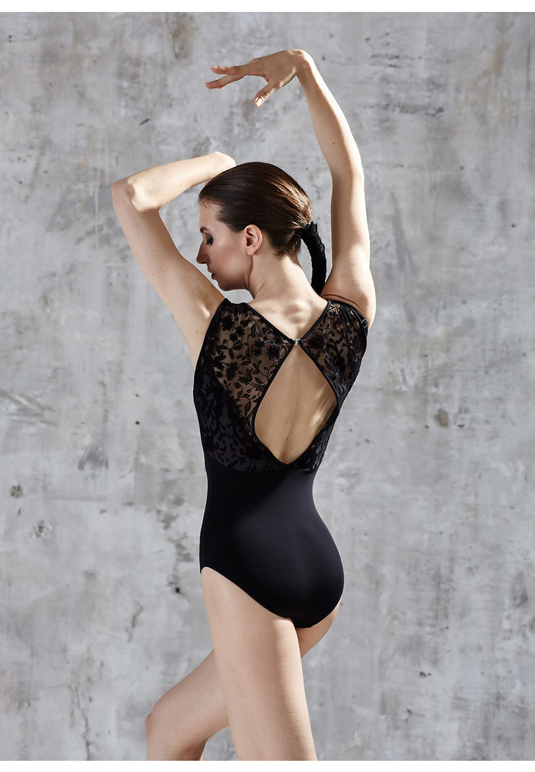 BOLSHOI STARS. SENSES LEOTARD WITH LACE BY GRISHKO 2