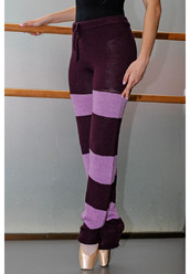 LONG HANDMADE KNITTED PANTS BY TANOK