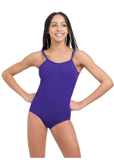WOMEN'S CAMISOLE LEOTARD WITH ADJUSTABLE STRAPS