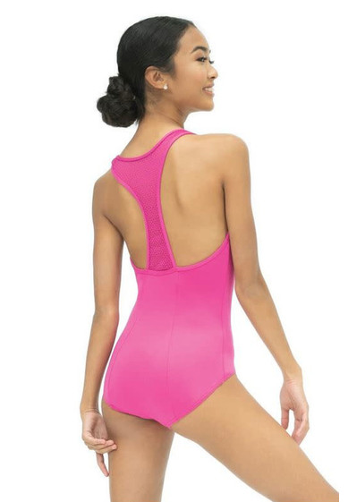 HIGH NECK LEOTARD BY CAPEZIO