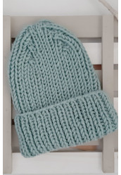 HANDMADE KNITTED SLOUCHY HAT BY TANOK