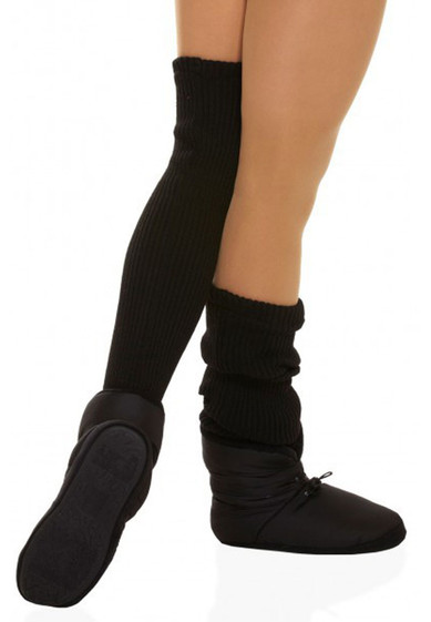 SCRUNCH WARM-UP BOOTS WITH LEGWARMERS BY CAPEZIO