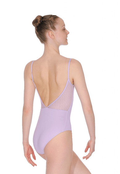 CAMISOLE DEEP V BACK LEOTARD  BY CAPEZIO