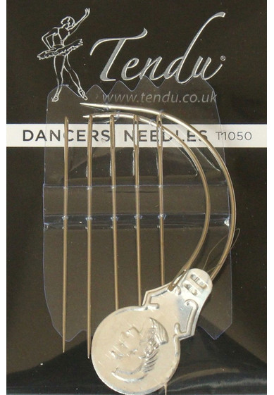DARNING NEEDLES FOR POINTE SHOES BY TENDU