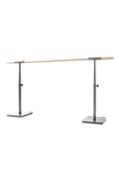 HEIGHT ADJUSTABLE BALLET BARRE WITH WHEELES