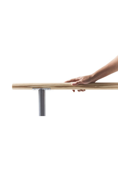 FLOOR MOUNTED BALLET BARRE