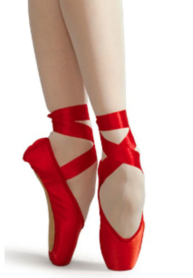 Red Pointe Shoes